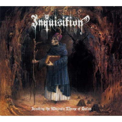 Invoking the Majestic Throne of Satan CD DIGI