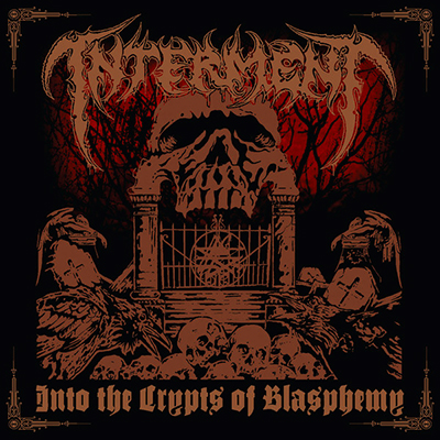 Into The Crypts of Blasphemy CD