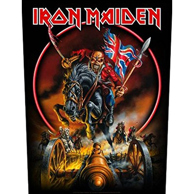 Maiden England - BACKPATCH