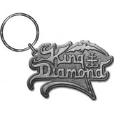KING DIAMOND logo - KEYRING