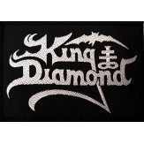 KING DIAMOND logo - PATCH