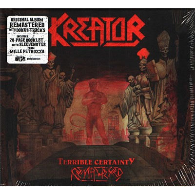 Terrible Certainty 2CD MEDIABOOK