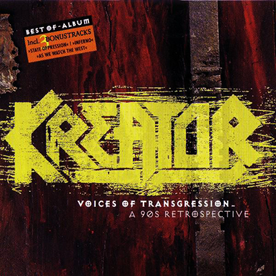 Voices of Transgression - A 90's Retrospective CD