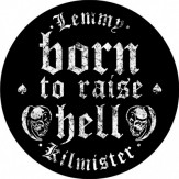 Born to Raise Hell - BACKPATCH