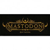 MASTODON logo - PATCH