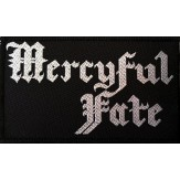 MERCYFUL FATE logo - PATCH