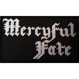 MERCYFUL FATE logo - PATCH