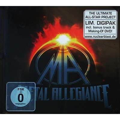 Metal Allegiance CD+DVD MEDIABOOK