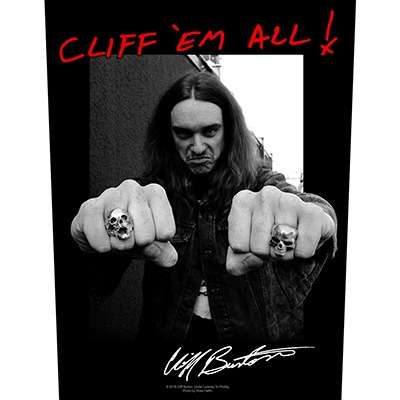 Cliff 'Em All - BACKPATCH