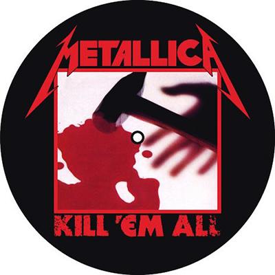 Kill 'Em All / Ride The Lightning - SLIPMAT