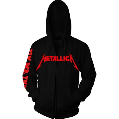 Kill 'Em All - ZIP HOODIE
