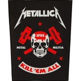 Metal Militia - BACKPATCH