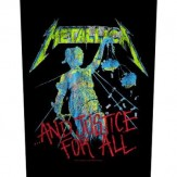 ...and Justice for All - BACKPATCH