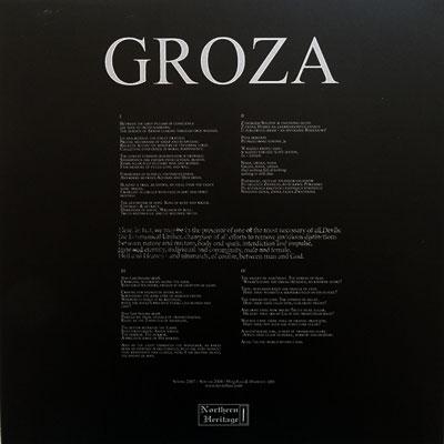 Ledo Takas Records Mgla Groza Lp