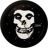 Skull logo - WALL CLOCK
