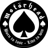Born to Lose - Live to Win - BACKPATCH