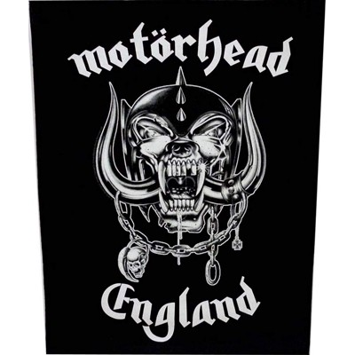 England - BACKPATCH