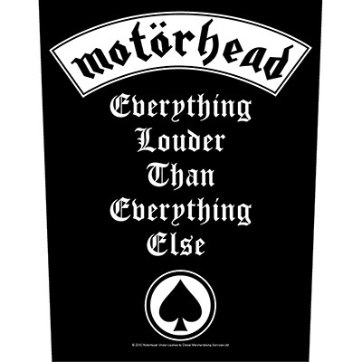 Everything Louder - BACKPATCH