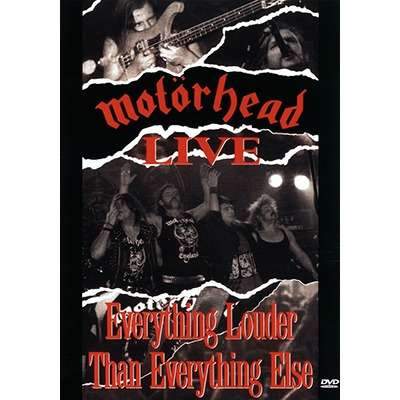 Live: Everything Louder Than Everything Else DVD