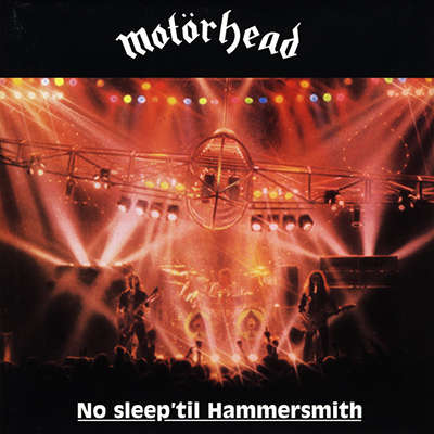 No Sleep 'til Hammersmith CD