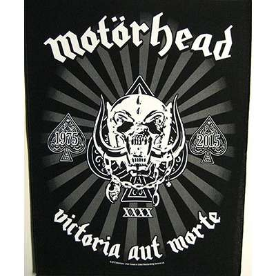 Victoria aut Morte 1975-2015 - BACKPATCH