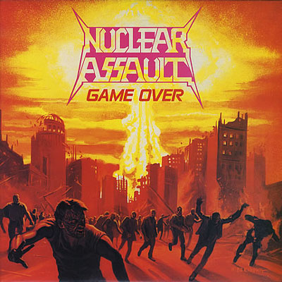 Game Over / The Plague CD