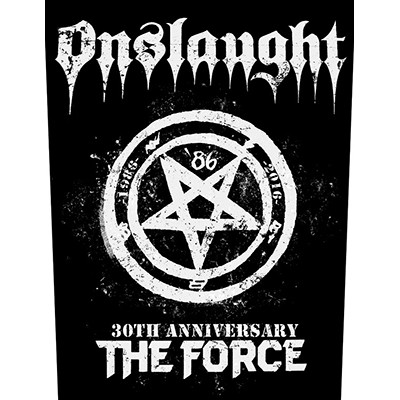 The Force 30th Anniversary - BACKPATCH