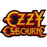 OZZY OSBOURNE logo [cut out] - PATCH