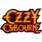 OZZY OSBOURNE logo [cut out] - PATCH