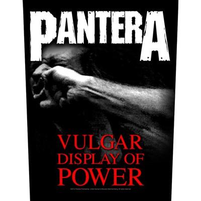 Vulgar Display of Power - BACKPATCH