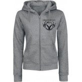 Where Greater Men Have Fallen GIRLIE ZIP HOOD
