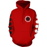 Black and White Asterisk - HOODIE