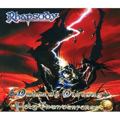 Dawn of Victory / Holy Thunderforce CD MEDIABOOK