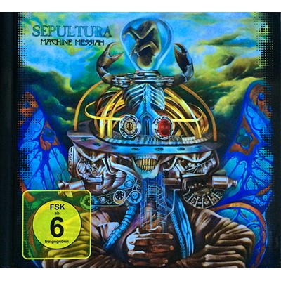 Machine Messiah CD+DVD MEDIABOOK