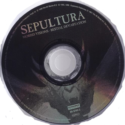 Ledo Takas Records Sepultura Morbid Visions Bestial