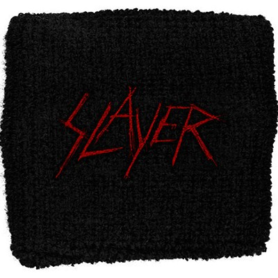 SLAYER scratched logo - WRISTBAND