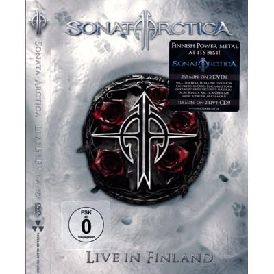 Live in Finland 2DVD+2CD DIGIPAK