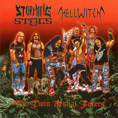 The Twin Bestial Forces CD