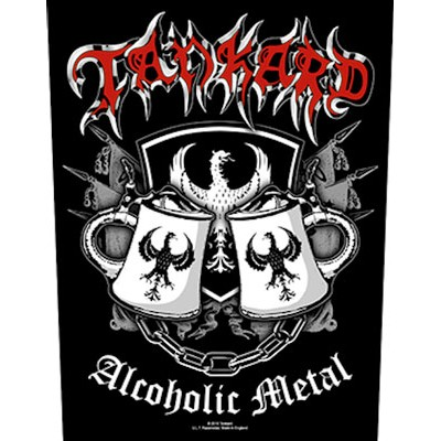 Alcoholic Metal - BACKPATCH