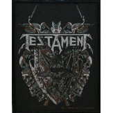 TESTAMENT shield - PATCH