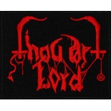 THOU ART LORD logo - PATCH