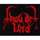 THOU ART LORD logo - PATCH