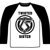 TWISTED SISTER logo - LONGSLEEVE