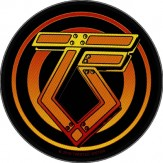 TWISTED SISTER logo - PATCH