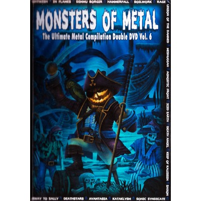 Monsters of Metal - The Ultimate Metal Compilation Vol. 6 2DVD DIGIBOOK