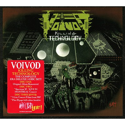 Killing Technology 2CD+DVD DIGI