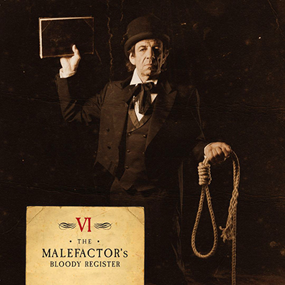 The Malefactor's Bloody Register CD