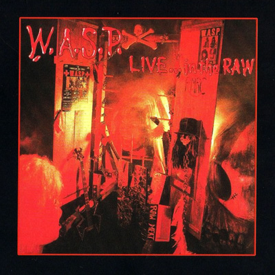 Live... in the Raw CD