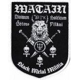 Black Metal Militia / Division Balticum - PATCH