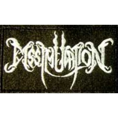 DISSIMULATION logo [white] - PATCH